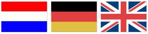 3 talen vlag